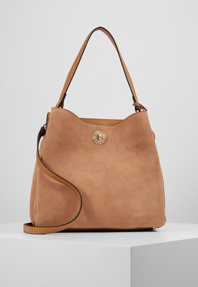 EVELINA - Handbag - camel