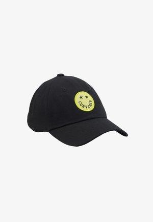 HAPPY CAMPER BASEBALL - Cap - black