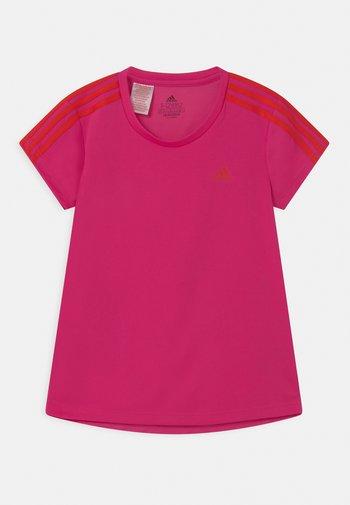 UNISEX - Print T-shirt - team real magenta/vivid red