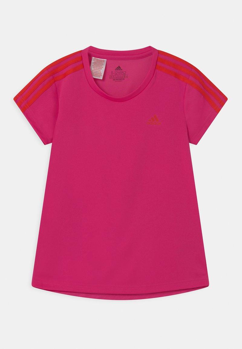 adidas Performance - UNISEX - Print T-shirt - team real magenta/vivid red