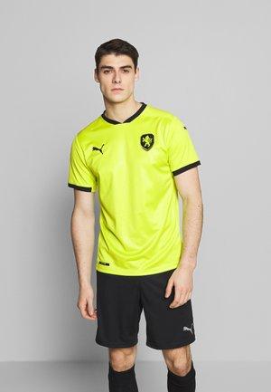 CZECH REPUBLIC FACR AWAY JERSEY - National team wear - limepunch/puma black