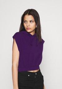 Topshop - HOOD - Print T-shirt - purple - 3