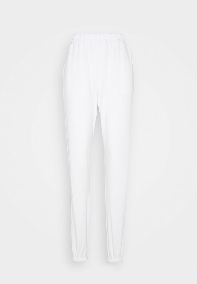 TALL BASIC JOGGERS - Tracksuit bottoms - white