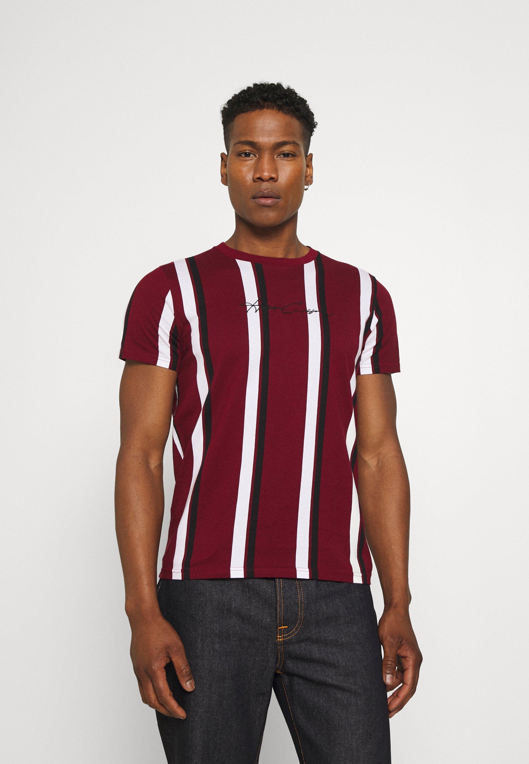 Homme VERT STRIPE MENSWEAR - T-shirt imprimé