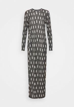 BEAT DRESS - Maxi šaty - anthracite