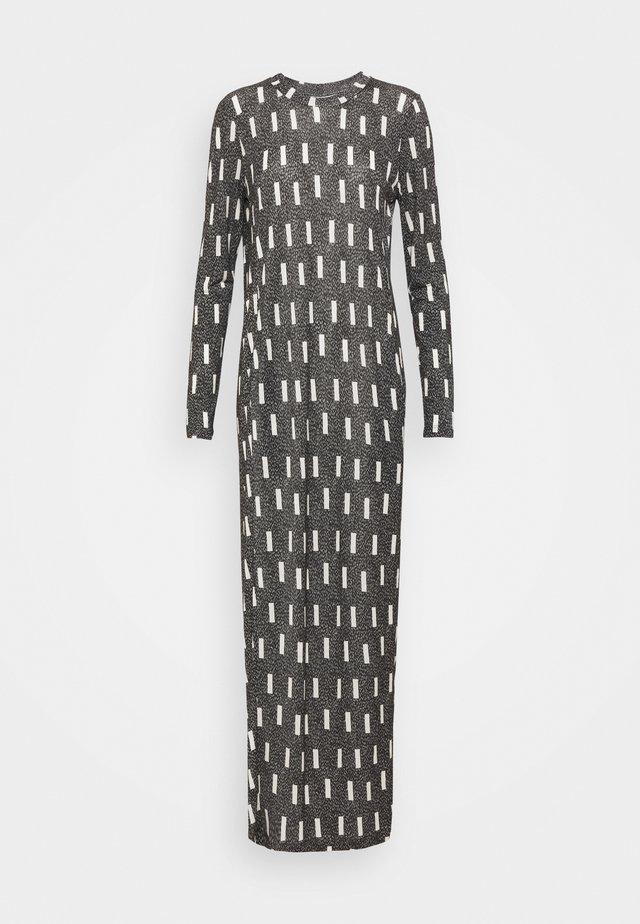 BEAT DRESS - Maxi-jurk - anthracite