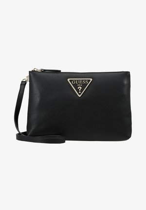 MICHY MINI DOUBLE ZIP XBODY - Across body bag - black