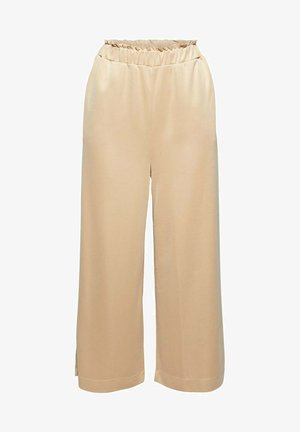 CULOTTE - Trousers - sand