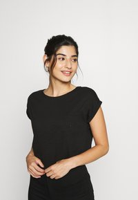 New Look Petite - 2 PACK - Basic T-shirt - black - 1