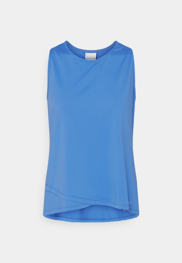 WINDGATES TANK - Top - harbor blue