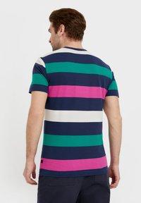 Finn Flare - Print T-shirt - dark blue - 2