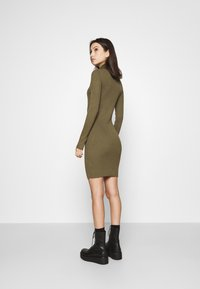 ONLY - ONLELLY ROLLNECK DRESS - Jumper dress - kalamata - 2