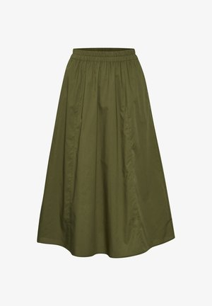 CASSIAGZ  - A-line skirt - dark olive