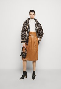 Alberta Ferretti - PIECES SKIRT - Pencil skirt - brown - 1