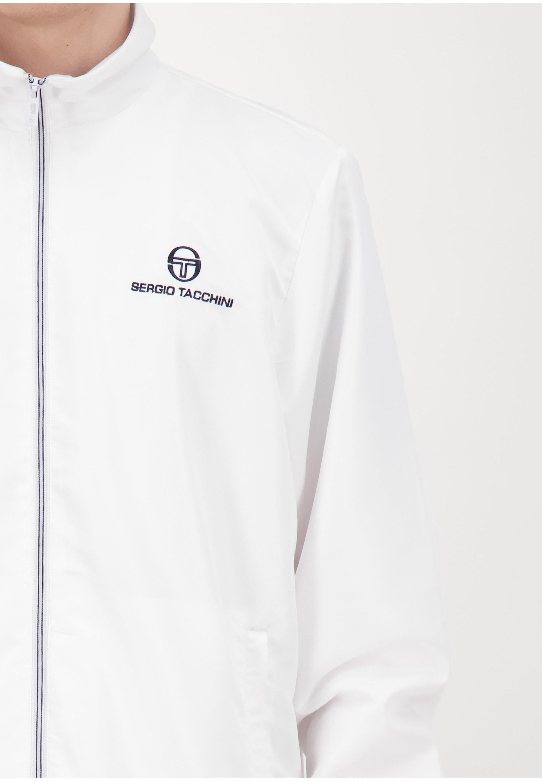 sergio tacchini CARSON  - Veste de survêtement - wht/nav