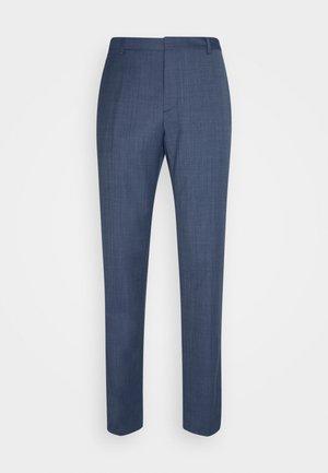 FIL-A-FIL PANTS - Stoffhose - blue
