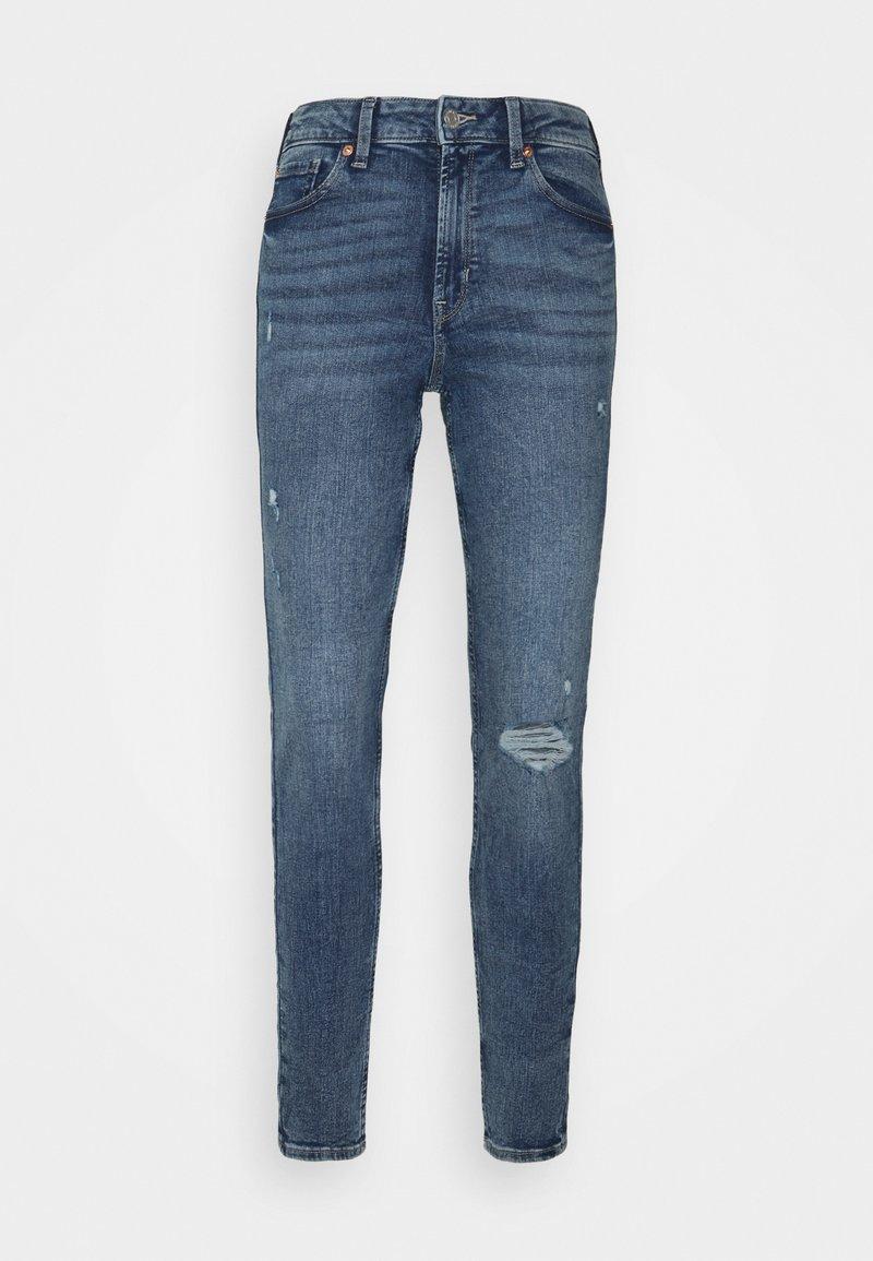 GAP - LEGGING YALE  - Jeans Skinny Fit - medium yale
