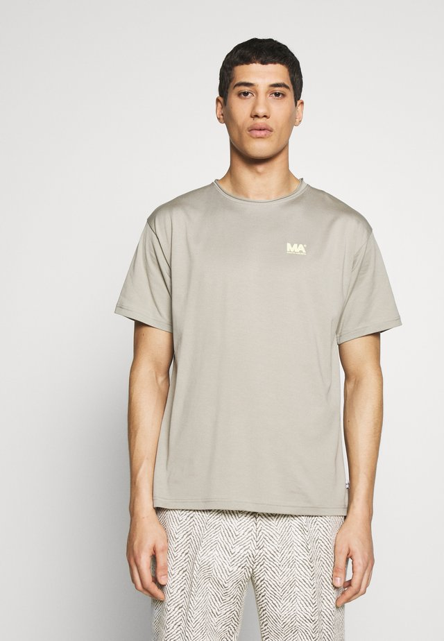 GREG TEE - T-shirt con stampa - stone grey
