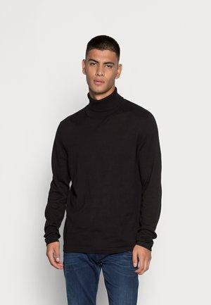 ROGAN  ROLL NECK  - Stickad tröja - black