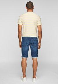 s.Oliver - REGULAR - Denim shorts - blue - 2