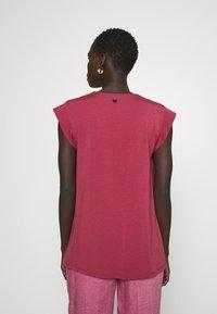 WEEKEND MaxMara - MULTIC - Basic T-shirt - dunkelmauve - 2