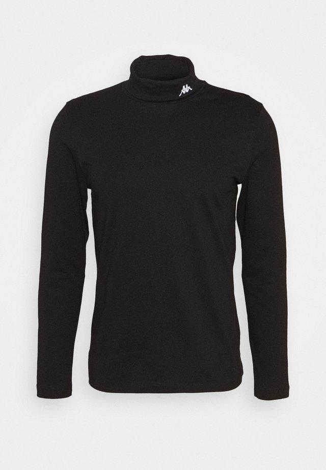 HAIO LONGSLEEVE - T-shirt à manches longues - caviar