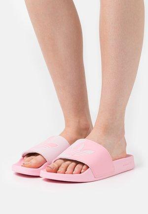 ADILETTE LITE - Mules - clear pink/light pink