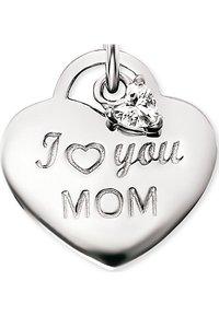 Engelsrufer - ENGELSRUFER DAMEN-KETTE KETTE LOVE MOM MIT ZIRKONIA 925ER SILBER - Necklace - silver - 2