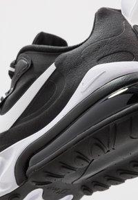 Nike Sportswear - AIR MAX  REACT - Trainers - black/white - 5