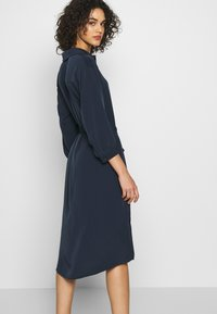 Monki - VALENTINA DRESS - Skjortekjole - blue - 4