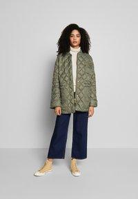 Part Two - ADDA - Classic coat - deep lichen green - 1