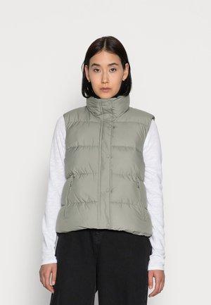 VEST ILSE - Vest - light dusty green