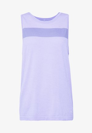 MOTION SEAMLESS TANK - Sports shirt - orchid heather