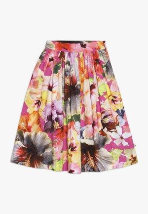 BRITTANY - Áčková sukně - pink