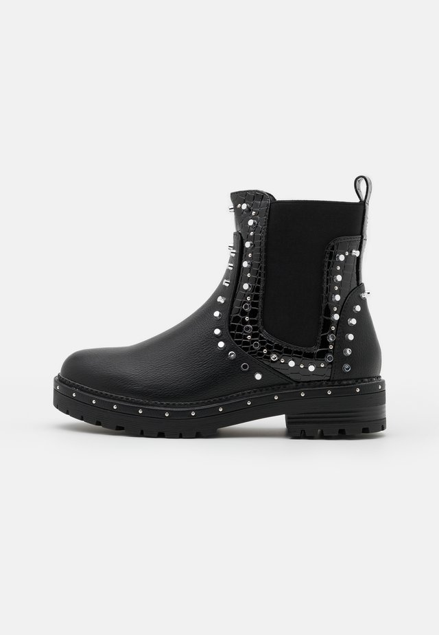 EXTREME STUDDED CHELSEA BOOT - Stivaletti - black