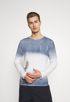 ENDEAVOUR ROUND - Maglietta a manica lunga - derby blue