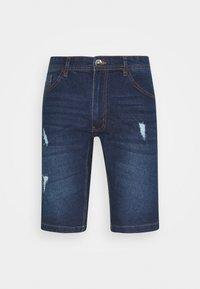 Redefined Rebel - HAMPTON - Denim shorts - mid blue - 4