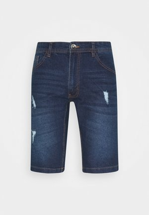 HAMPTON - Shorts vaqueros - mid blue