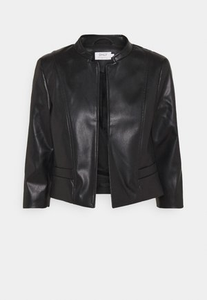 ONLKIERA JACKET - Faux leather jacket - black