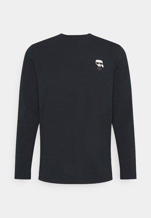CREWNECK - Long sleeved top - navy