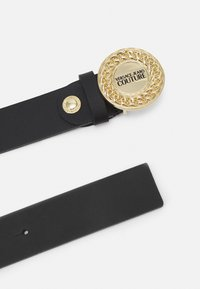 Versace Jeans Couture - ROUND BUCKLE - Pasek - nero - 2