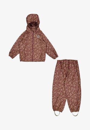 SET - Rain trousers - fig flowers