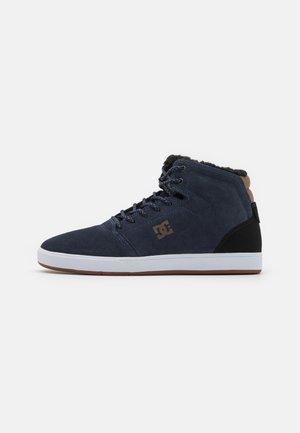 CRISIS UNISEX - Sneakers alte - blue/black/brown
