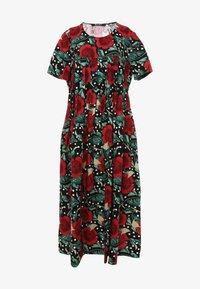 Madam-T - Maxi dress - schwarz rot - 6