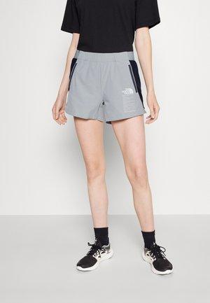 GLACIER SHORT - Sports shorts - grey/black