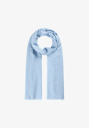 SEASONAL SOLID - Foulard - hellblau