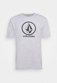 CRISP STONE BSC SS - T-shirt med print - heather grey