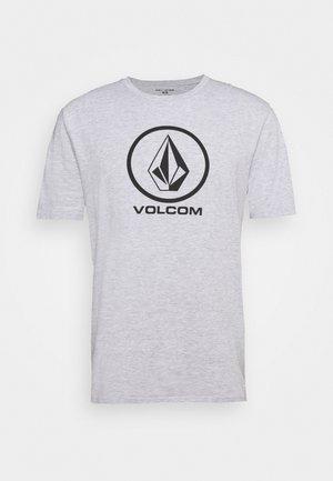 CRISP STONE BSC SS - T-shirts med print - heather grey