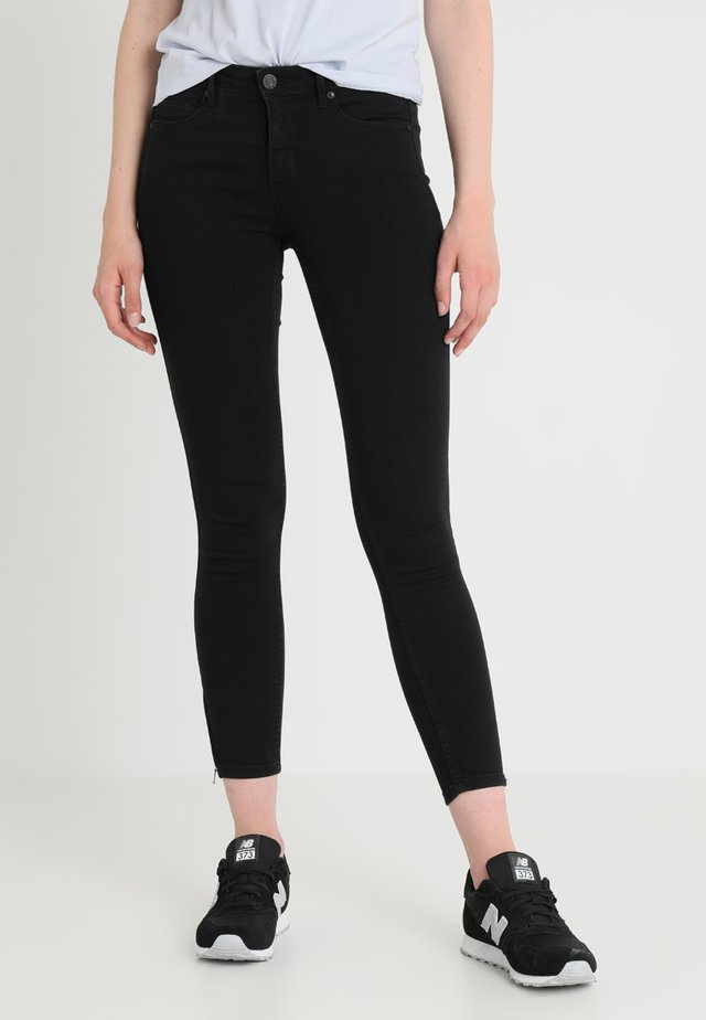NMKIMMY ZIP - Jeans Skinny Fit - black