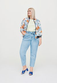 Rock Your Curves by Angelina K. - Bomber Jacket - white - 1